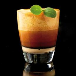Sopa de quisquillas, sabayón a la Martin's Pale Ale