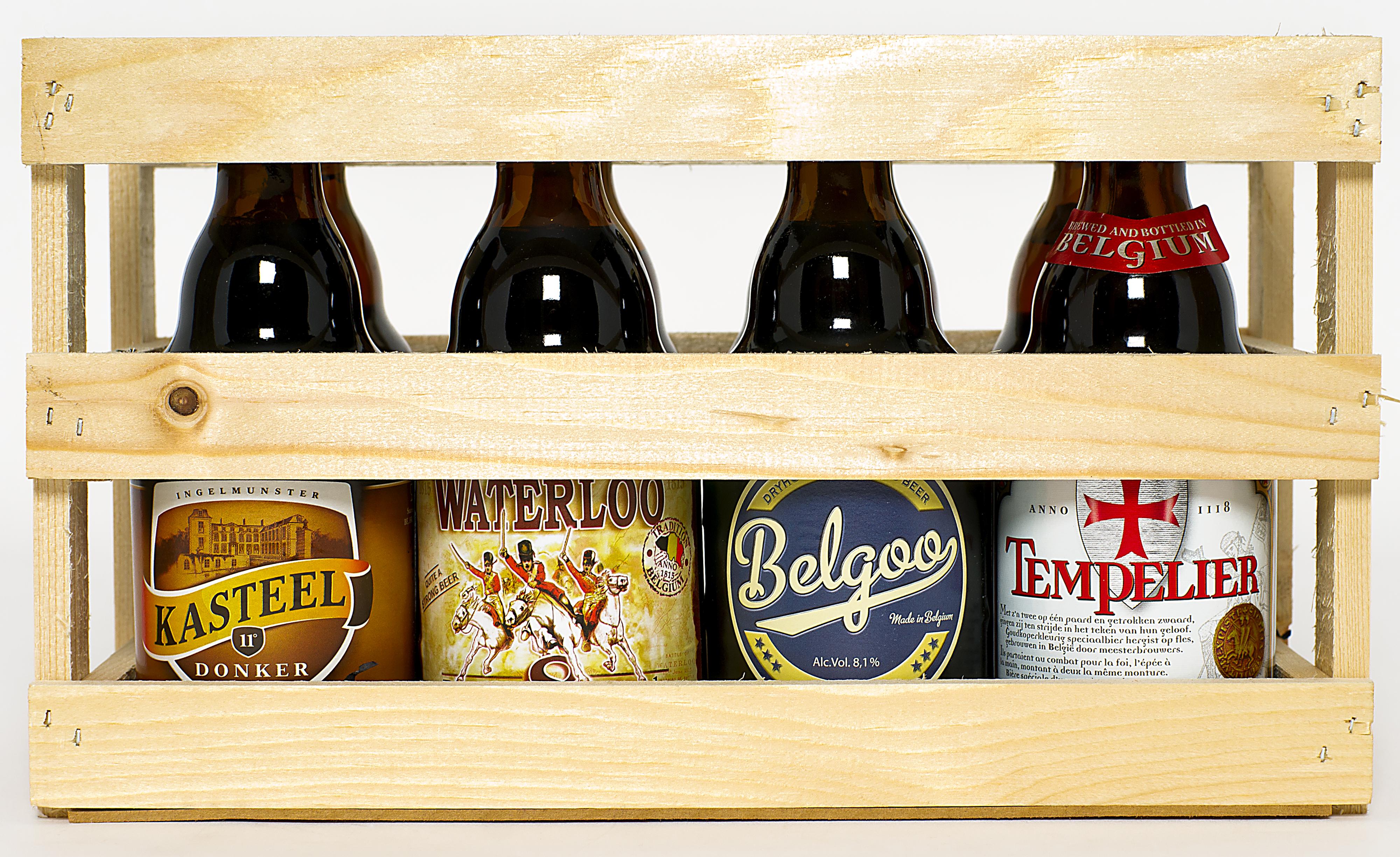 En 2015…¡Regala cerveza!:'Belgian Box 8x33Cl'