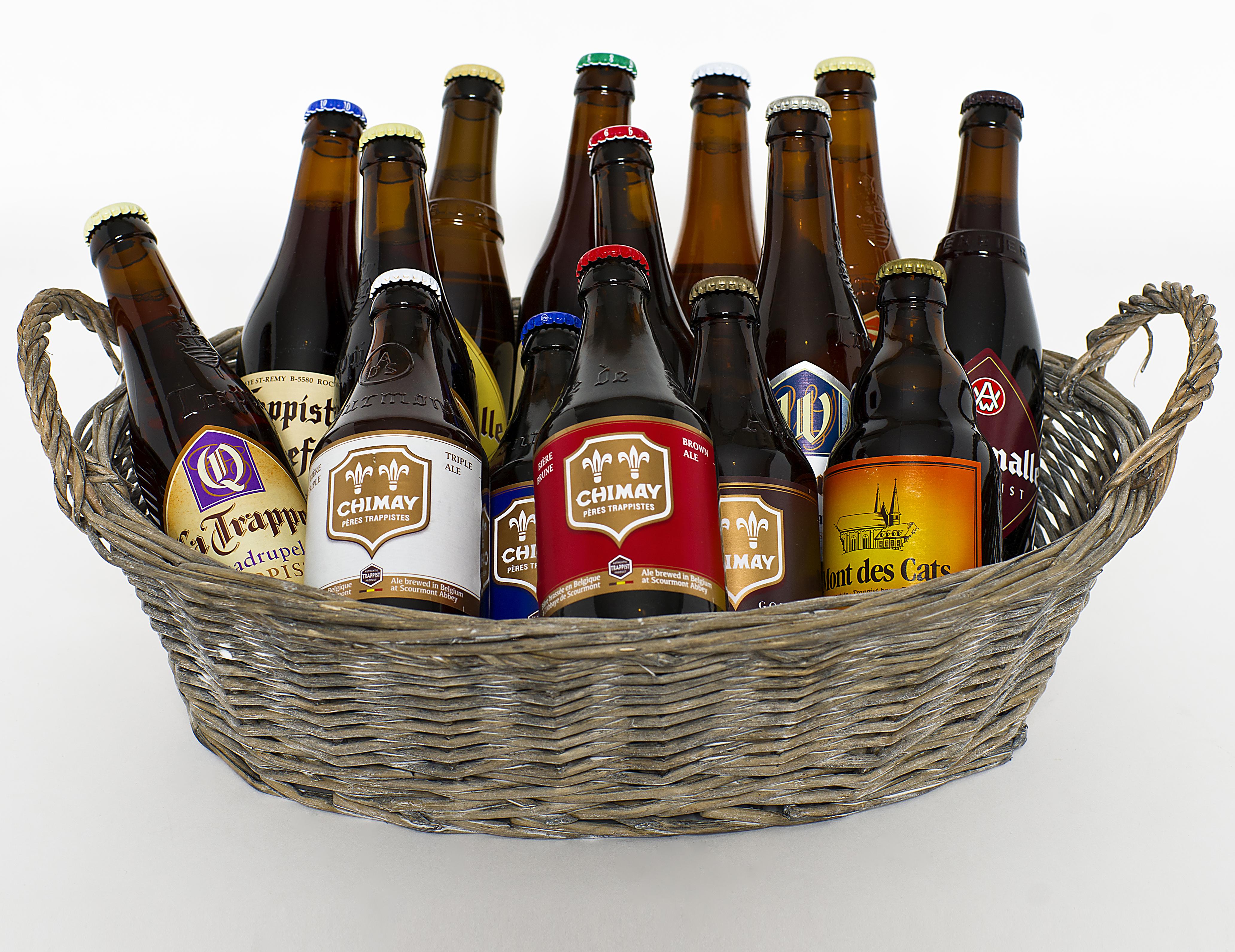 Esta Navidad ¡Regala cerveza!: Cesta 'Best Trappist'